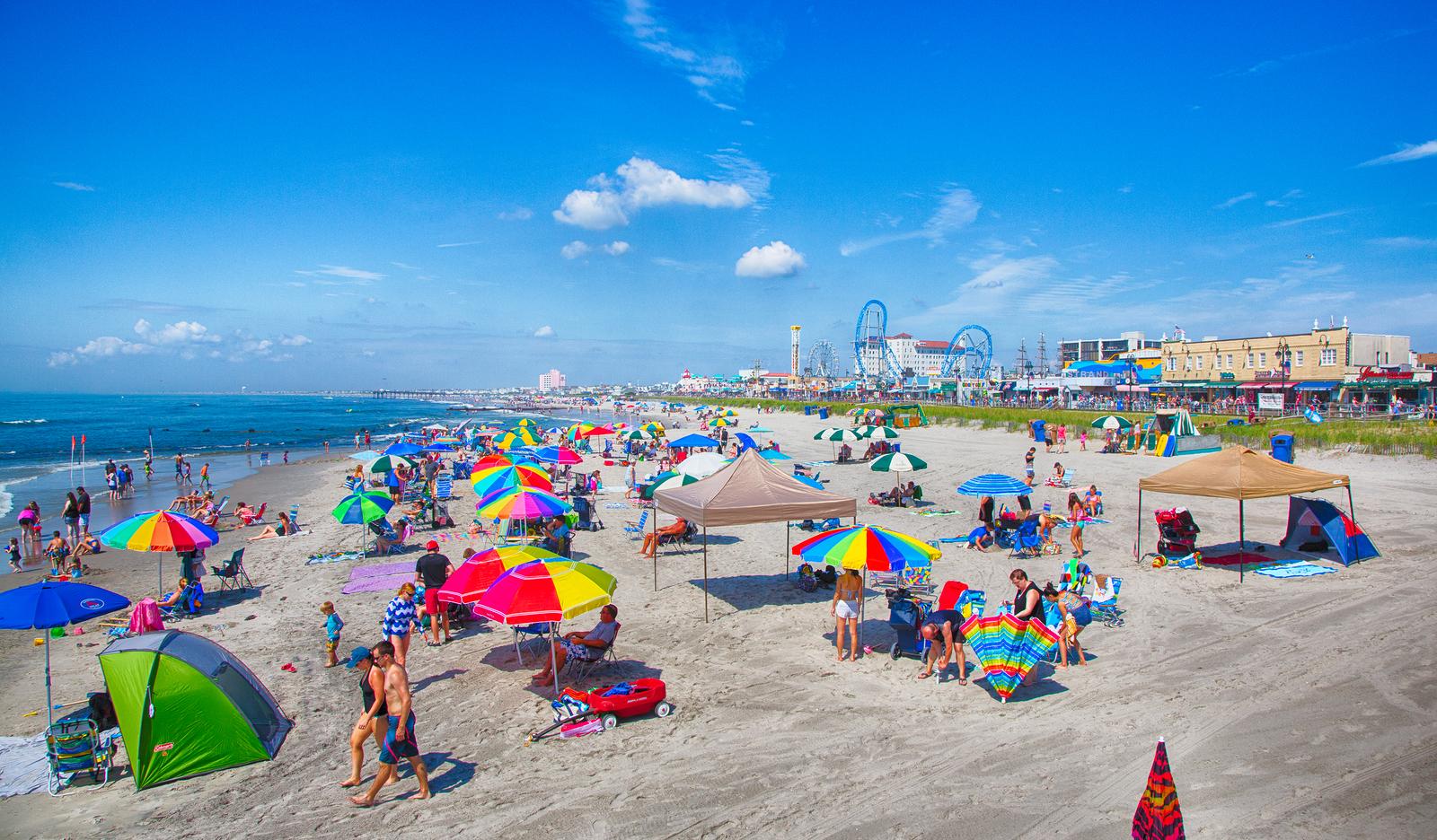 Beach Bathrooms Ocean City Nj